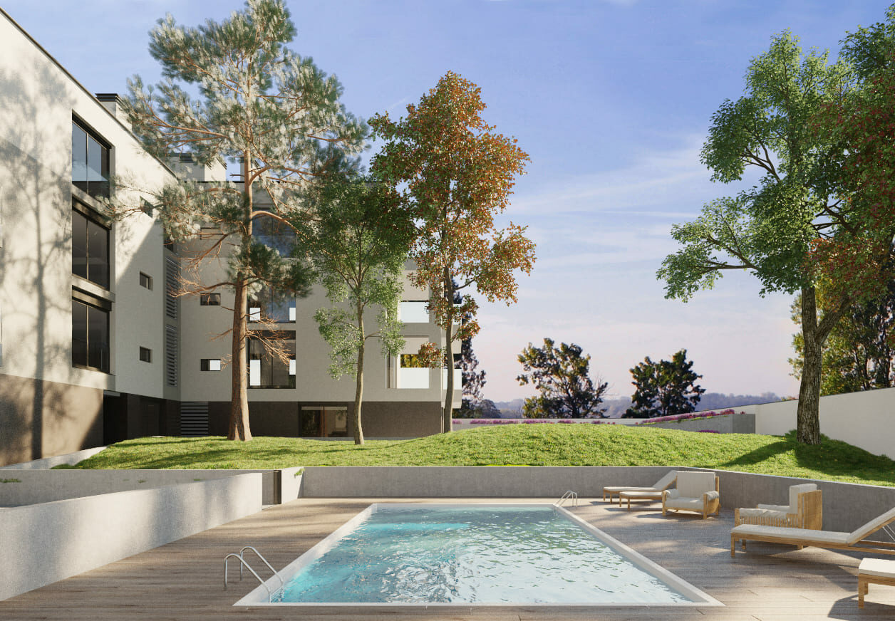 proyecto residencial madrid